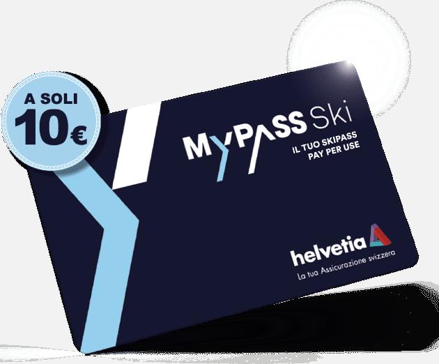 MyPass Ski Card A Soli 10 Euro