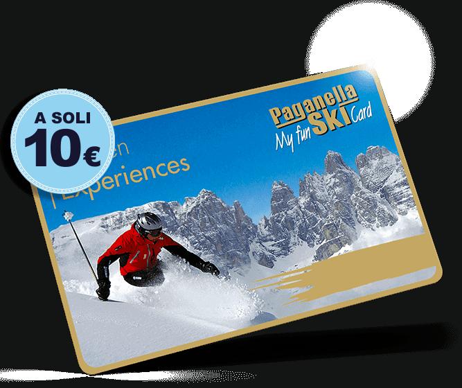 MyPass Ski card only 10 euro